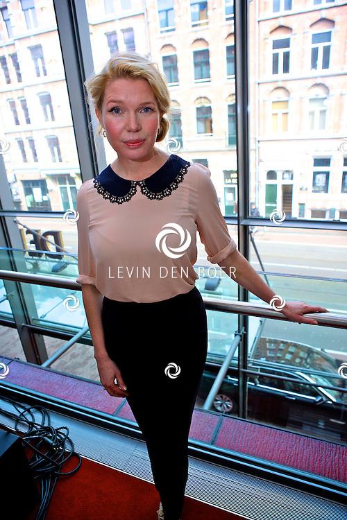 AMSTERDAM - In theater De LaMar werd een perspresentatie gehouden over het nieuwe seizoen.  Met op de foto actrice Tjitske Reidinga. FOTO LEVIN DEN BOER - PERSFOTO.NU