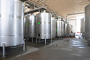 stainless steel tanks herdade do esporao alentejo portugal