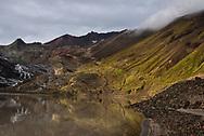 Mageik Lake in the Valley of Ten Thousand Smokes, Alaska