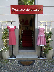 Small independent boutique in Prenzlauer Berg district of Berlin Germany