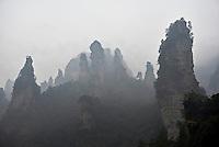 Chine, Hunan, Zhangjiajie, region panoramique et historique de Wulingyuan, patrimoine mondial Unesco // China, Hunan Province, Zhangjiajie, Wulingyuan Scenic Area, Zhangjiajie National Forest Park, Unesco world Heritage