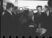 Dana Arrives after Eurovision Success.23/03/1970 At Dublin Airport, John Hume,