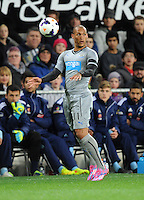 Newcastle United's Yoan Gouffran against Sydney FC in the first match of the Football United Tour at Forsyth Barr Stadium, Dunedin, New Zealand, Tuesday, July 22, 2014.