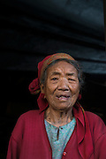 Ao Naga woman<br /> Ao Naga Headhunting Tribe<br /> Mokokchung district<br /> Nagaland,  ne India