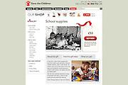 2011 12 31 Tearsheet Save the Children Shop school supplies Cote d'Ivoire