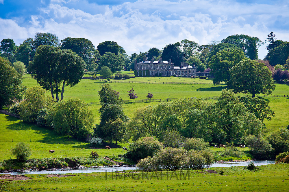Elegant Fort William House at Glencairn near Lismore, County Waterford, Ireland