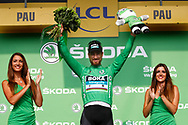 Podium, Hotess, Miss, Peter Sagan (SVK - Bora - Hansgrohe) green jersey, during the 105th Tour de France 2018, Stage 18, Trie sur Baise - Pau (172 km) on July 26th, 2018 - Photo Luca Bettini / BettiniPhoto / ProSportsImages / DPPI