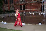MARY CHARTERIS, V & A Summer Party. 2018. Exhibition Rd. South Kensington, London. 20 June 2018