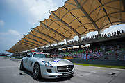 March 29, 2014 - Sepang, Malaysia. Malaysian Formula One Grand Prix. F1 Safety car<br /> <br /> © Jamey Price / James Moy Photography