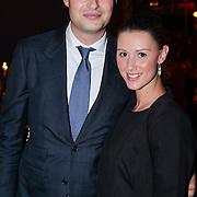 NLD/Amsterdam/20121108 - Premiere Palazzo 2012, Frans Frederiks en partner Danielle van Aalderen