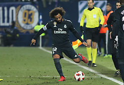 January 16, 2019 - Leganes, Madrid, Spain - Marcelo of Real Madrid in action during the King Spanish championship, , football match between Leganes and Real Madrid on January 16th at Butarque Stadium in Leganes, Madrid, Spain. (Credit Image: © AFP7 via ZUMA Wire)