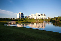 Architectural Image of Gaithersburg Offices of MedImmune by DC Photographer Jeffrey Sauers of Commercial Photographics