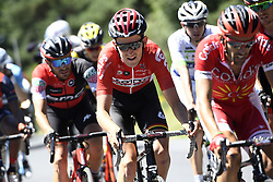 July 16, 2017 - Le Puy-En-Velay, FRANCE - Belgian Tiesj Benoot of Lotto Soudal pictured in action during the 15th stage of the 104th edition of the Tour de France cycling race, 189,5 from Laissac-Severac l'Eglise to Le Puy-en-Velay, France, Sunday 16 July 2017. This year's Tour de France takes place from July first to July 23rd. BELGA PHOTO YORICK JANSENS (Credit Image: © Yorick Jansens/Belga via ZUMA Press)