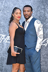 Ashley Walters (left) and Danielle Isaie attending the premiere of Yardie at the BFI Southbank, London. Picture date: Tuesday August 21st, 2018. Photo credit should read: Matt Crossick/ EMPICS Entertainment.