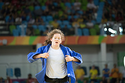 09.08.2016, Carioca Arena 2, Rio de Janeiro, BRA, Rio 2016, Olympische Sommerspiele, Judo, Damen, im Bild Kathrin Unterwurzacher (AUT) // Kathrin Unterwurzacher of Austria during the Womens Judo Tournament of the the Rio 2016 Olympic Summer Games at the Carioca Arena 2 in Rio de Janeiro, Brazil on 2016/08/09. EXPA Pictures © 2016, PhotoCredit: EXPA/ Johann Groder
