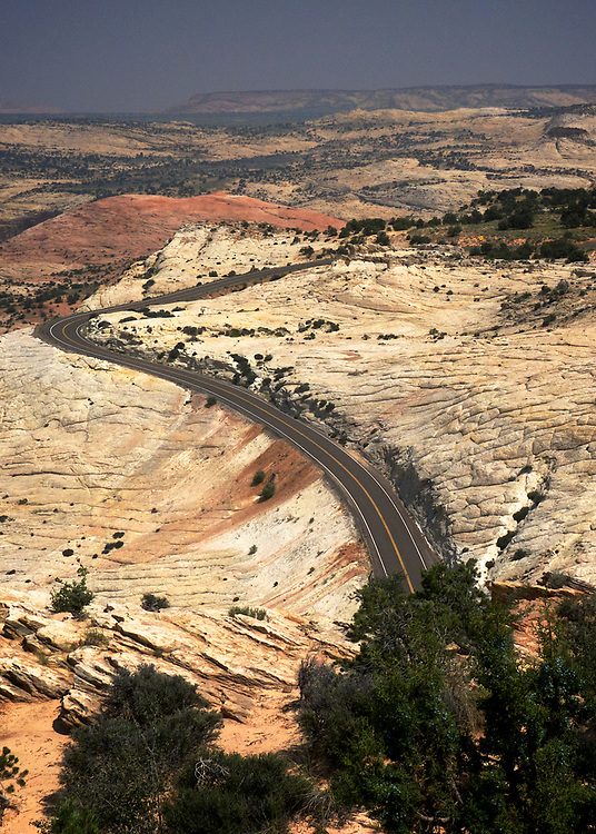 """Highway 12 from Panguitch to Torrey in southern Utah, is a beautiful road through an amazing landscape, despite being called, """"The Devil's Backbone"""".  This part of the American Southwest is full of interesting roads through a diversity of landscapes."""