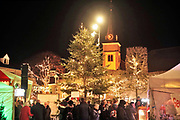 Nederland, Wijchen, 22-12-2019Kersmarkt en sfeervol marktplein in Wijchen bij Nijmegen . Foto: Flip Franssen
