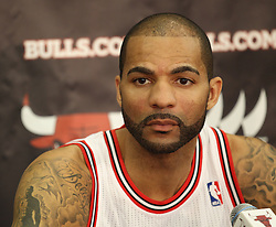 11.12.2011, The Berto Center, Deerfield, USA, NBA, Chicago Bulls Medien Tag, im Bild CARLOS BOOZER CHICAGO BULLS // during Chicago Bulls Media Day at the Berto Center, Deerfield, United Staates on 2011/12/11, POLAND OUT!!!. EXPA Pictures © 2011, PhotoCredit: EXPA/ Newspix/ Kamil Krzaczynski..***** ATTENTION - for AUT, SLO, CRO, SRB, SUI and SWE only *****