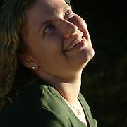BRUNSWICK, Maine -- 9/23/06 --  Senior Portraits of:Jennifer W., 17<br /> Photo by Roger S. Duncan