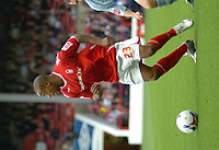 Photo: Ian Hebden.<br />Nottingham Forest v Chesterfield. Coca Cola League 1. 02/09/2006.<br />Junior Agogo makes his debut for Nottingham Forest.