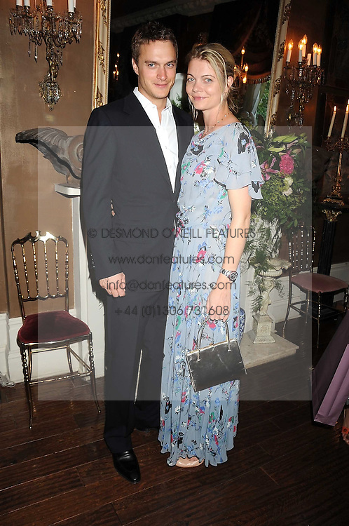 The EARL & COUNTESS OF MORNINGTON at a party hosted by the Supper Club in honour of Mary Greenwell held at Beach Blanket Babylon, Ledbury Road, London on 25th June 2008.<br /><br />NON EXCLUSIVE - WORLD RIGHTS