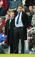 7/11/2004 - FA Barclayship Premiership - Middlesbrough v Bolton Wanderers - The Riverside Stadium<br />Middlesbrough manager Steve McLaren (l) and Bolton Wanderers' manager Sam Allardyce watch the action.<br />Photo:Jed Leicester/Back Page Images