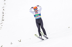 02.03.2019, Seefeld, AUT, FIS Weltmeisterschaften Ski Nordisch, Seefeld 2019, Nordische Kombination, Team Sprung, im Bild Mario Seidl (AUT) // Mario Seidl of Austria during the Team Jumping competition for Nordic Combined of FIS Nordic Ski World Championships 2019. Seefeld, Austria on 2019/03/02. EXPA Pictures © 2019, PhotoCredit: EXPA/ JFK