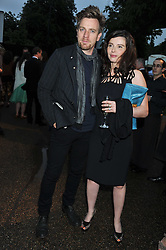 EWAN & EVE McGREGOR at the annual Serpentine Gallery Summer Party sponsored by Burberry held at the Serpentine Gallery, Kensington Gardens, London on 28th June 2011.