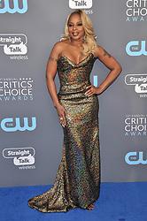 Mary J. Blige at The 23rd Annual Critics' Choice Awards held at the Barker Hangar on January 11, 2018 in Santa Monica, CA, USA (Photo by Sthanlee B. Mirador/Sipa USA)