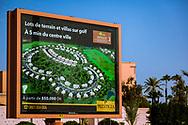 06-10-2015 -  Foto van Uitbreiding golfresorts bij De stad van Marrakech in Marrakech, Marokko.