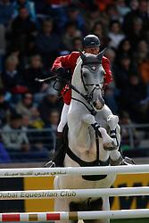 Lansink Jos - Cavalor's Cumano<br /> World Equestrian Games - Aachen 2006<br /> Photo © Hippo Foto