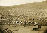 1925 Afternoon concert at the Hollywood Bowl