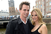 Photocall cast The Bold and the Beautiful in Hotel De L'Europe , Amsterdam <br /> <br /> On the Photo:  Darin Brooks and Kelly Kruger