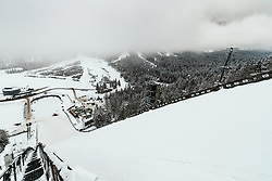 General view of the hill at preparation of Planica Hill 6 days before FIS Ski Flying World Championships 2020, on December 4, 2020 in Planica, Slovenia. Photo by Matic Klansek Velej / Sportida