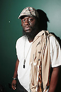 October 27, 2012-New York, NY: Abdul backstage at House of Blues for BlackStar performance on October 27, 2012 in Atlantic City, New Jersey. Black Star arose from the underground movement of the late 1990s, which was in large part due to Rawkus Records, an independent record label stationed in New York City. They released one album, Mos Def & Talib Kweli Are Black Star on August 26, 1998. (Terrence Jennings)