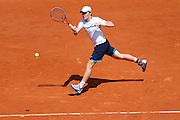 Roland Garros. Paris, France. May 29th 2012.Estonian player Jurgen ZOPP against Richard GASQUET.