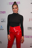 Elena Ghenoiu at Los Angeles Premiere Of 'Untogether' held at Frida Restaurant on February 08, 2019 in Sherman Oaks, California, United States (Photo by JC Olivera)