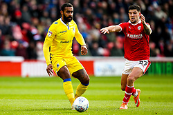 Stefan Payne of Bristol Rovers takes on Alex Mowatt of Barnsley - Mandatory by-line: Robbie Stephenson/JMP - 27/10/2018 - FOOTBALL - Oakwell Stadium - Barnsley, England - Barnsley v Bristol Rovers - Sky Bet League One