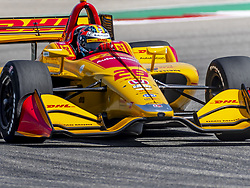 March 22, 2019 - Austin, Texas, U.S. - RYAN HUNTER-REAY (28) of the United States goes through the turns during practice for the INDYCAR Classic at Circuit Of The Americas in Austin, Texas. (Credit Image: © Walter G Arce Sr Asp Inc/ASP)