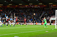 Goal - Callum Wilson (13) of AFC Bournemouth scores a goal to give a 1-0 lead to the home team during the Premier League match between Bournemouth and Huddersfield Town at the Vitality Stadium, Bournemouth, England on 4 December 2018.