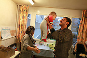 Centre d'accueil de demandeurs d'asile a Miribel, Ain.  Welcoming center for asylum seekers, in Miribel, Ain, France.