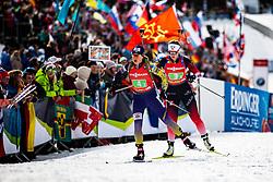 Anastasiya Merkushyna (UKR) during the Mixed Relay 2x 6 km / 2x 7,5 km at day 3 of IBU Biathlon World Cup 2019/20 Pokljuka, on January 23, 2020 in Rudno polje, Pokljuka, Pokljuka, Slovenia. Photo by Peter Podobnik / Sportida