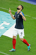 Olivier GIROUD (FRA) celebrated it goal scored during the FIFA Friendly Game football match between France and Republic of Ireland on May 28, 2018 at Stade de France in Saint-Denis near Paris, France - Photo Stephane Allaman / ProSportsImages / DPPI