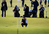 Golf - 2021 Alfred Dunhill Links Championship - Day Four - The Old Course at St Andrew's - Day Four -  Sunday 3rd October 2021<br /> <br /> Danny Willett on the 18th<br /> <br /> Credit: COLORSPORT/Bruce White