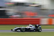 2009 Formula 1 Santander British Grand Prix at Silverstone in Northants, Great Britain. action from Friday practice on 19th June 2009.  Kazuki Nakajima of Japan drives his Williams F1 car...