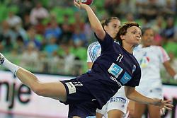 Cerenjak Katja of Slovenia during handball match between National teams of Slovenia and France of 2011 Women's World Championship Play-off, on June 12, 2011 in Arena Stozice, Ljubljana, Slovenia. (Photo By Urban Urbanc / Sportida.com)