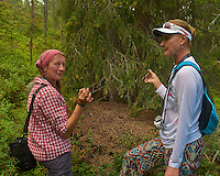 Tasting Ant Venom on a Stick in the Woods near Rovaniemi, Finland. Semester at Sea, Summer 2014 Voyage, Reindeer and Lappland Field Trip. Image taken with a Leica X2 camera (ISO 100, 24 mm, f/3.5, 1/160 sec). Raw image processed with Capture One Pro, Focus Magic, and Photoshop CC.