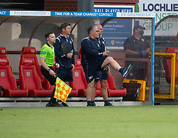31JUL21 Partick Thistle's manager Ian McCall. Partick Thistle 3 v 2 Queen of the South. First Scottish Championship game of the season.