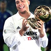 Spain Soccer...<br /> Super League soccer Team Real Madrid  Ronaldo.<br /> SPAIN<br /> Photo by Aykut AKICI/TurkSporFoto