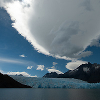 Grey Lake, Torres del Paine National Park, Chile.